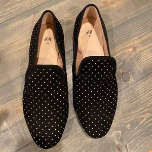 H&M Studded Loafers